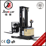 1.2t-1.5t Pedestrain Fork Reach Type Full Electric Stacker