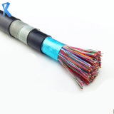 Annealed Bare Copper 10-Pair Hya23 Armoured Underground Outdoor Telephone Cable