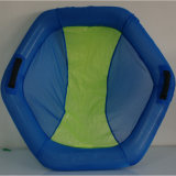 Polyester Mesh Inflatable Air Lounger Pool Floating Raft Chair