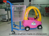High Quality Goods Supermarket Shopping Trolley Children Toy Trolley