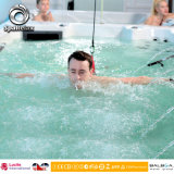 Lucite Swim SPA 6 Meters Swimming Pool with 6 Persons Jacuzzi