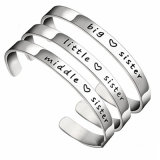 Custom Unsex Stainless Steel Cheap Engraved Bracelets