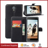 Candy Colorful Book Flip PU Leather Wallet Case for HTC