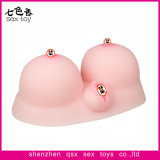 Artificial Soft Breast Realistic Slicone Sex Toy for Man