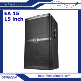 Single 15 Inch Audio Equipment Loudspeaker Professional Speaker (EA 15)
