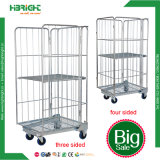 Warehouse Roll Container Supermarket Trolley Roll Pallet
