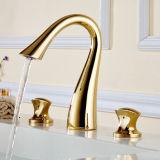 Contemporary Concise Bathroom Faucet Mixer Dual Holder