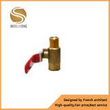 Female Mini Brass Floor Heating Ball Valve