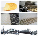 Most Popular Potato Chips Maker Machina and Pringle Processing Line