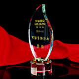 New Style Optical Crystal Award Clear Plaque Crystal Trophy