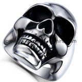 High Quality 316 Stainless Steel Skull Ring Custom Jewelry