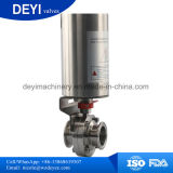 Sanitary Single Acting Pneumatic Actuator Butterfly Valve