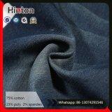 Hot Sale 21s Twill Dark Blue Denim Fabric for Jacket