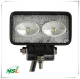 IP67 Waterproof Working Lights 20W LED Work Lights Square Offroad Light CREE Driving Car Roof Lights, Nsl-2002A-20W