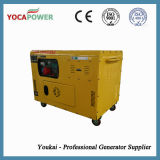 10kVA Air-Cooled Soundproof Portable Electric Diesel Generator