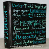 "Slogan Printing Memories Photo Album for 4X6 "" Photos"