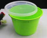 High Quality Green Color Microwave Safe Plastic Disposable Food Container