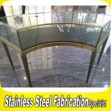 High Grade Bespoke Stainless Steel Jewelry Display Showcase