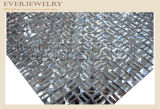 24*40 Hot Fix Ss6 Rhinestone Diamond Mesh Trimming for Bag