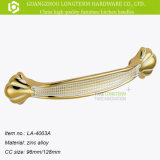 Classical Ivory Wrought Design Zamak Drawer Handle