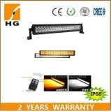 42′′ 240W Bi-Coloured Cheap LED Light Bar with Wireless Remote Control for Jeep Wrangler
