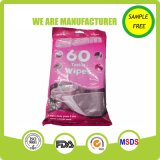 OEM Manufacture Spunlace Nonwoven Material Wet Wipes for Toliet