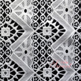 Trial Order Acceptable Promotional Eco-Friendly White Guipure Lace Fabric