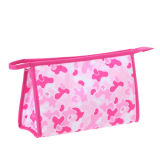 Lovely Pink Cosmetic Pouch Beauty Bag for Travel
