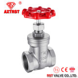 Stainless Steel Non-Rising Stem Threaded Gate Valve (200PSI)