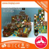 Pirate Ship Style Galvanized Pipe Indoor Maze Playground Equipment
