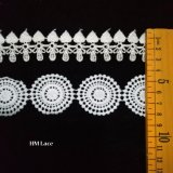 Thin Small Lace Trim Hm Lace Factory Latest Design Embroidered Lace Trim