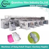 Full-Servo High-Speed Sanitary Napkin Making Machine (HY800-SV)