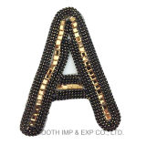 Fashion Sequins Digital Embroidery Patches Logo