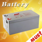 Must Fcg Matainance 12V 100ah 150ah 200ah 250ah Gel Solar Battery