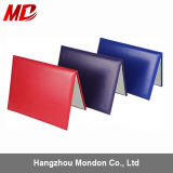 "8.5""*11"" Mutiple Color Smooth Leatherette Certification Cover"
