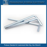 Galvanized High Carbon Steel Hex Key