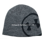 Heather Gray/Black Under Armour Billboard Beanie Cap