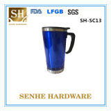 Hot Sale Promotional Double Wall Thermal Plastic Coffee Mug (SH-SC13)