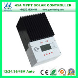 45A MPPT 99% Efficiency 12/24/36/48V Solar System Charger Controller (QW-MT4845)