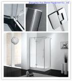 10mm Tempered Glass Shower Door 8mm Stainless Steel Shower Door Sanitary Ware