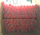 PU Spiral Hose, PU Coil Tube with Quick Connectors 5.5*8mm*12m