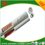 Plain Copper Inner Conductor 75 Ohm Rg59 Bc Coaxial Cable