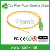 Sc APC Singlemode Fiber Optic Pigtail