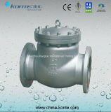 API Carbon Steel Flanged Bolt Bonnet Swing Check Valve