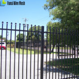 Powder Coated Galvanized Metal Security Fence
