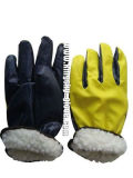 Nitrile Laminated Full Acrylic Pile Winter Glove