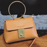 Designer Handbags Circle Handle Ladies Bags Solid Color Women Handbag Sy7755