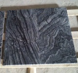 Silver Wave Black Marble, Marble Tiles and Marble Slabs
