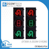 300mm Red Green U Turn with Countdown LED Traffic Light