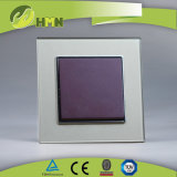 Ce/TUV/CB Certified European Standard Toughened Glass Wall Switch